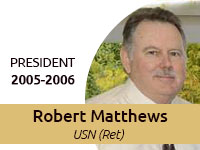 Robert Matthews Central Florida Navy League