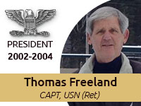 Thomas Freeland Central Florida Navy League