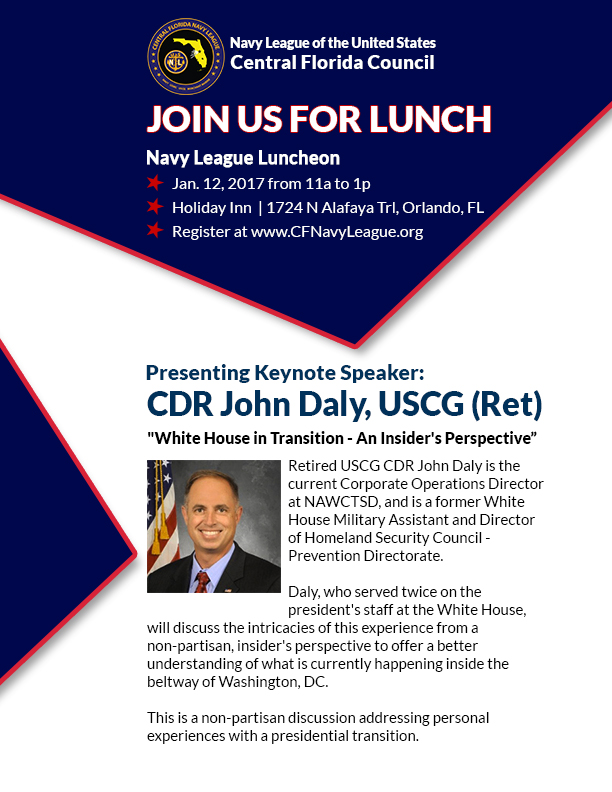 january luncheon features retired uscg commander john daly central