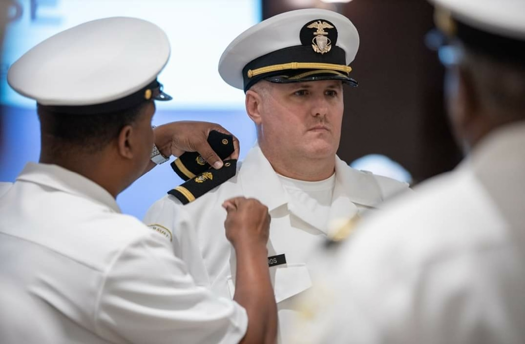 CFNL's Troy Edwards Promoted to Ensign for Naval Sea Cadet